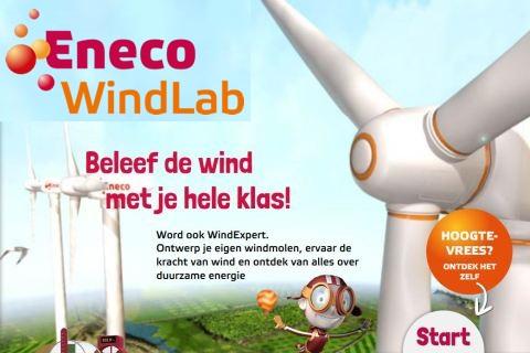 Windlab homepage 480x320