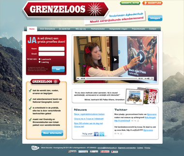 grenzeloos-digibord